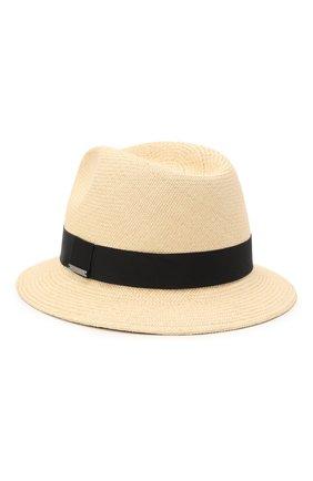 Мужская шляпа ERMENEGILDO ZEGNA бежевого цвета, арт. Z9I13/B9P | Фото 2
