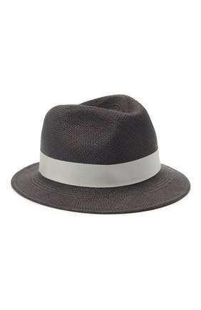 Мужская шляпа ERMENEGILDO ZEGNA темно-синего цвета, арт. Z9I13/B9P | Фото 1
