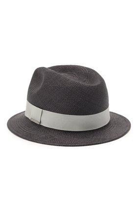 Мужская шляпа ERMENEGILDO ZEGNA темно-коричневого цвета, арт. Z9I13/B9P | Фото 2