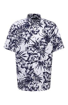 Мужская хлопковая рубашка POLO RALPH LAUREN синего цвета, арт. 711834499/5306/PRL BS | Фото 1