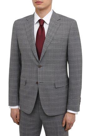 Мужской шерстяной костюм CANALI светло-серого цвета, арт. 11280/19/BR03216 | Фото 2