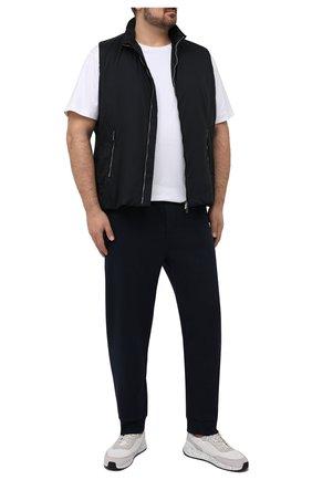 Мужская хлопковая футболка POLO RALPH LAUREN белого цвета, арт. 711746817/PRL BS | Фото 2 (Big sizes: Big Sizes; Рукава: Короткие; Длина (для топов): Удлиненные; Стили: Кэжуэл; Материал внешний: Хлопок; Принт: Без принта)