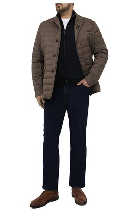 Мужской шерстяной кардиган BRIONI темно-синего цвета, арт. UMT20L/0ZK28 | Фото 2