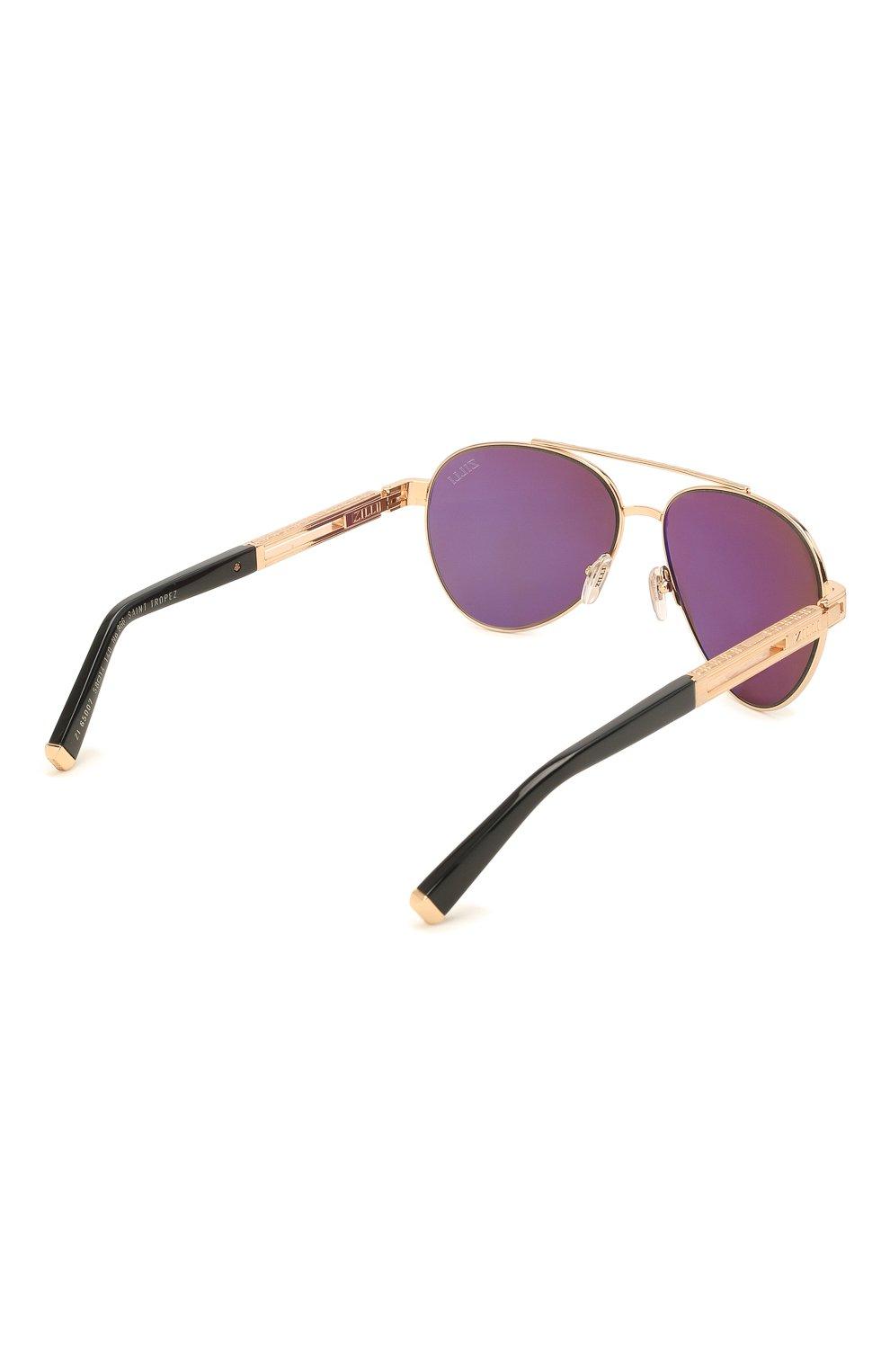 Мужские комплект из трех солнцезащитных очков ZILLI разноцветного цвета, арт. MIP-65007-C0FFR/0001 | Фото 10