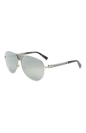 Мужские солнцезащитные очки ZILLI серебряного цвета, арт. MIP-65045-LUNET/0001 | Фото 1