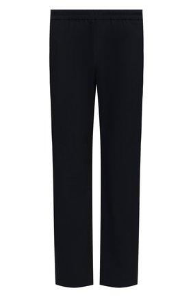 Мужские хлопковые брюки DRIES VAN NOTEN темно-синего цвета, арт. 211-20915-2167 | Фото 1