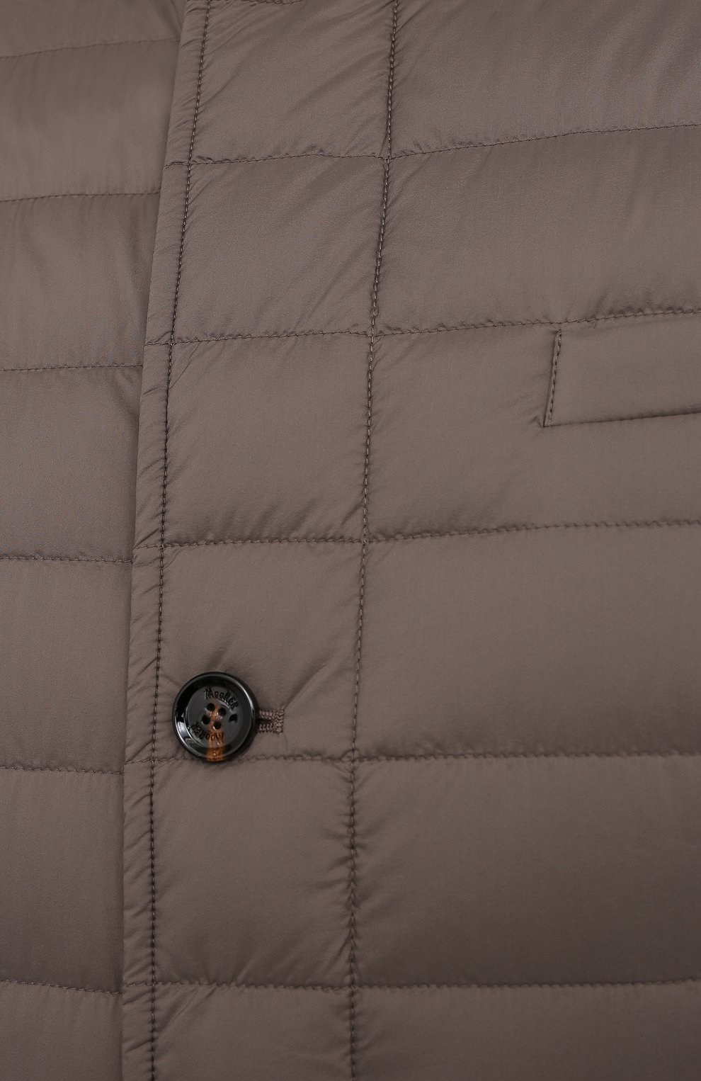 Мужская пуховая куртка zavyer-s3 MOORER бежевого цвета, арт. ZAVYER-S3/M0UGI100071-TEPA028/60-68   Фото 5