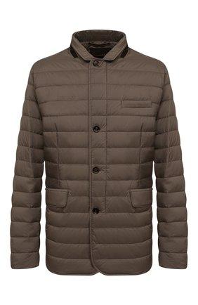 Мужская пуховая куртка zavyer-s3 MOORER коричневого цвета, арт. ZAVYER-S3/M0UGI100071-TEPA028/60-68 | Фото 1 (Материал утеплителя: Пух и перо; Материал внешний: Синтетический материал; Кросс-КТ: Куртка; Мужское Кросс-КТ: пуховик-короткий; Big sizes: Big Sizes; Рукава: Длинные; Стили: Кэжуэл; Материал подклада: Синтетический материал; Длина (верхняя одежда): До середины бедра)