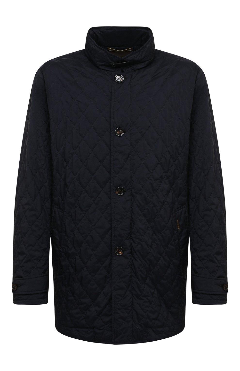 Мужская утепленная куртка dionisio-s3 MOORER темно-синего цвета, арт. DI0NISI0-S3/M0UGI100024-TEPA028 | Фото 1