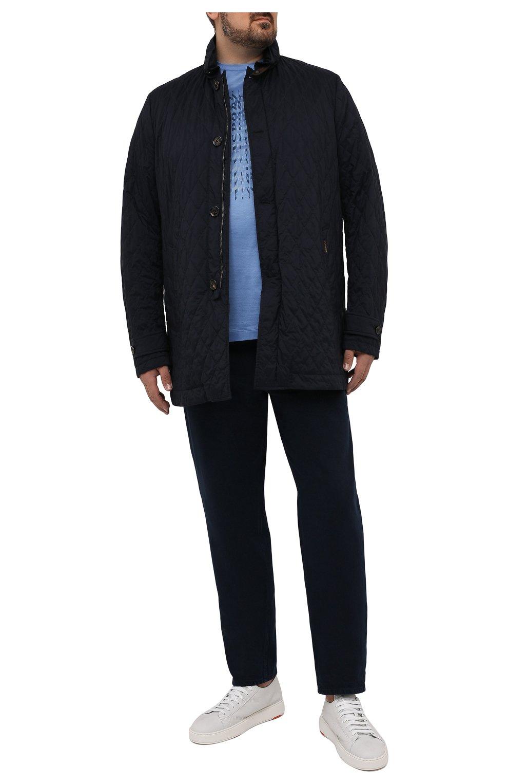 Мужская утепленная куртка dionisio-s3 MOORER темно-синего цвета, арт. DI0NISI0-S3/M0UGI100024-TEPA028 | Фото 2