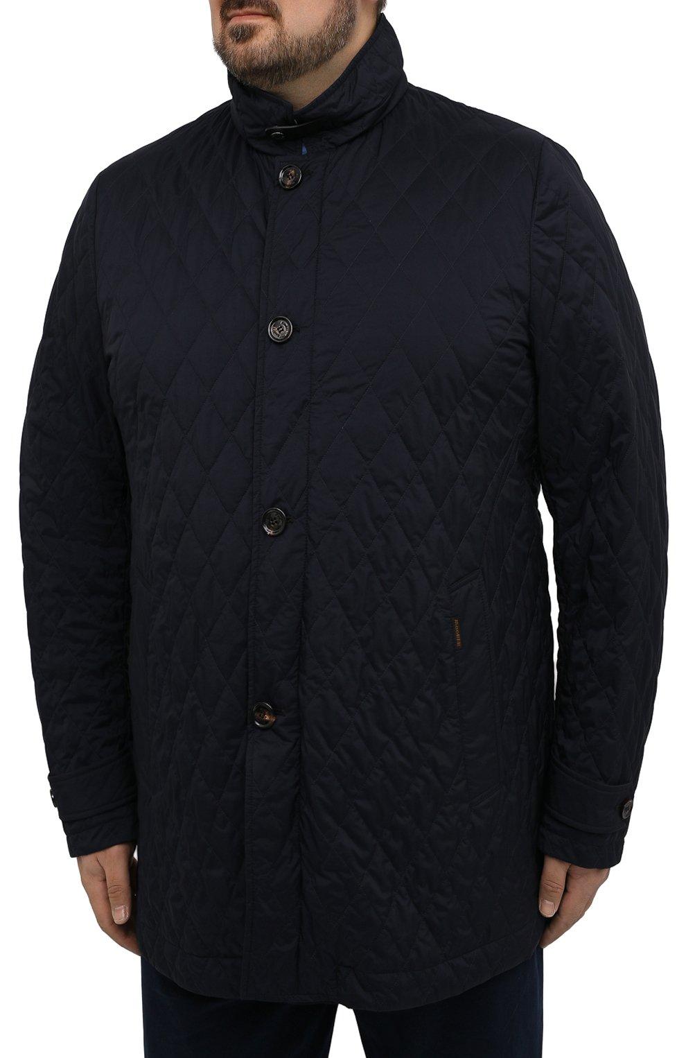 Мужская утепленная куртка dionisio-s3 MOORER темно-синего цвета, арт. DI0NISI0-S3/M0UGI100024-TEPA028 | Фото 3