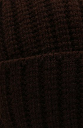 Мужская шапка-ушанка bright CANOE коричневого цвета, арт. 3447929 | Фото 3