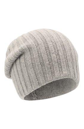 Мужская шерстяная шапка soft CANOE светло-серого цвета, арт. 4714172 | Фото 1