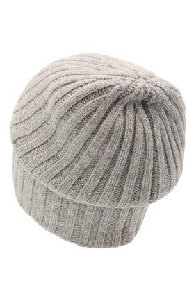 Мужская шерстяная шапка soft CANOE светло-серого цвета, арт. 4714172 | Фото 2