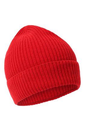 Мужская кашемировая шапка lyon CANOE красного цвета, арт. 4912220 | Фото 1