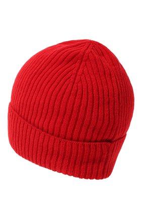 Мужская кашемировая шапка lyon CANOE красного цвета, арт. 4912220 | Фото 2