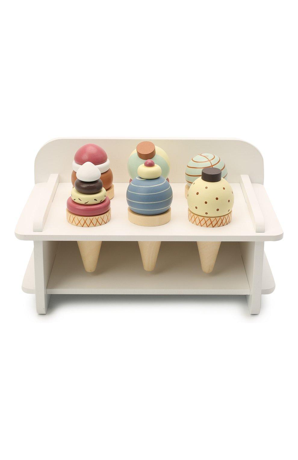 Детского игрушечное мороженое KID`S CONCEPT белого цвета, арт. 1000269   Фото 1