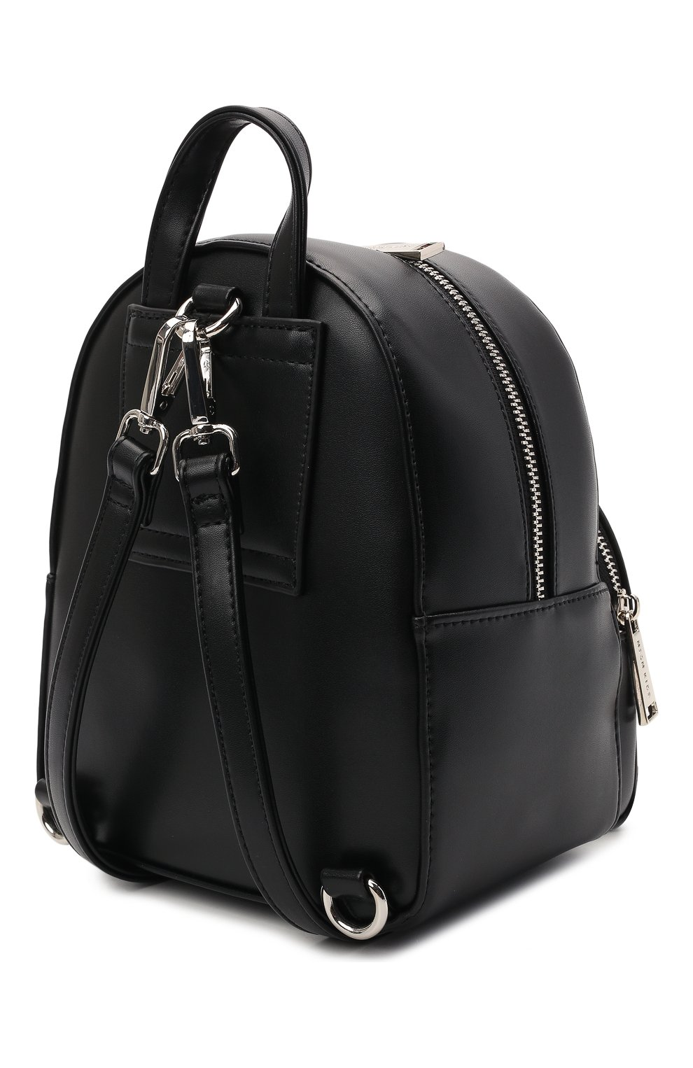 Детская рюкзак MSGM KIDS черного цвета, арт. MS026858 | Фото 2 (Материал: Экокожа)