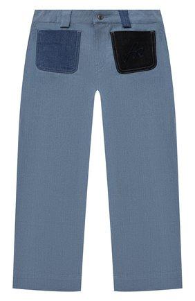 Детские джинсы SONIA RYKIEL ENFANT голубого цвета, арт. 21S1PA10   Фото 1