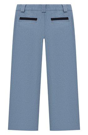 Детские джинсы SONIA RYKIEL ENFANT голубого цвета, арт. 21S1PA10   Фото 2