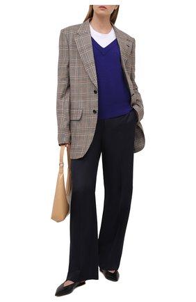 Женский кашемировый свитер BOSS светло-голубого цвета, арт. 50444484 | Фото 2