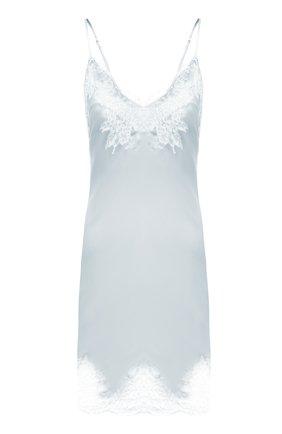 Женская шелковая сорочка LISE CHARMEL светло-голубого цвета, арт. ALC1080 | Фото 1