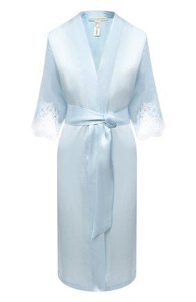 Женский шелковый халат LISE CHARMEL светло-голубого цвета, арт. ALC2080 | Фото 1