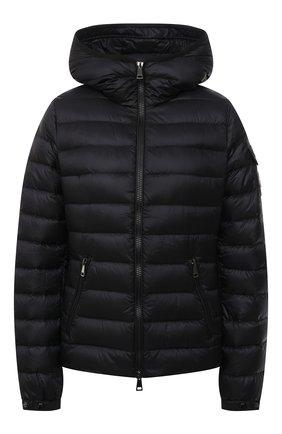 Женская пуховая куртка bles MONCLER черного цвета, арт. G1-093-1A128-00-5396Q | Фото 1