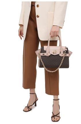 Женская сумка carmen MICHAEL MICHAEL KORS коричневого цвета, арт. 30S0GNMS1B   Фото 2