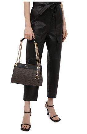Женская сумка susan MICHAEL MICHAEL KORS коричневого цвета, арт. 30H9GUSL1B   Фото 2