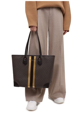 Женский сумка-тоут eva MICHAEL MICHAEL KORS коричневого цвета, арт. 30H0GV0T3B   Фото 2