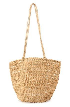 Женская сумка noosa medium SANS-ARCIDET бежевого цвета, арт. N00SA BAG S21/M   Фото 1