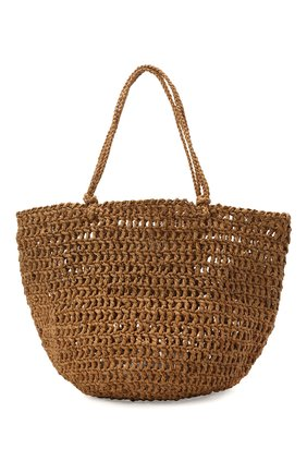 Женская сумка noosa large SANS-ARCIDET бежевого цвета, арт. N00SA BAG S21/L   Фото 1