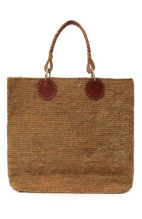 Женская сумка beby large SANS-ARCIDET бежевого цвета, арт. BEBY BAG MA-D S21/L   Фото 1