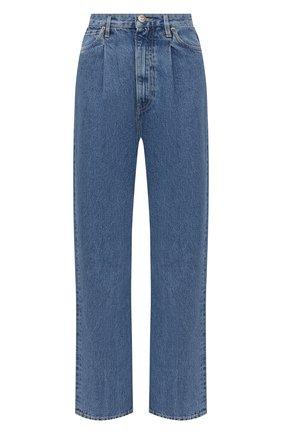 Женские джинсы 3X1 голубого цвета, арт. WX109866/LIGHT BLUE | Фото 1