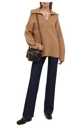 Женские джинсы 3X1 синего цвета, арт. WX1081079/RINSE | Фото 2