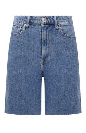 Женские джинсовые шорты 3X1 голубого цвета, арт. WS0111079/LIGHT BLUE | Фото 1 (Кросс-КТ: Деним; Женское Кросс-КТ: Шорты-одежда; Материал внешний: Хлопок; Длина Ж (юбки, платья, шорты): Мини; Стили: Гранж)