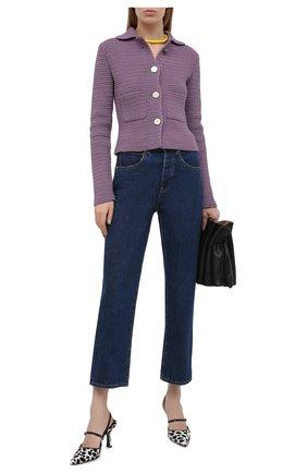 Женские джинсы 3X1 синего цвета, арт. WP0380866/BRIGHTST0NE | Фото 2