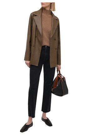 Женские джинсы 3X1 серого цвета, арт. WP0170921/RENAISSANCE | Фото 2