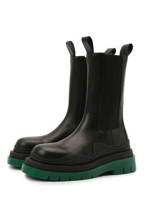 Кожаные ботинки BV Tire | Фото №1