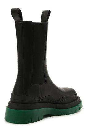 Женские кожаные ботинки bv tire BOTTEGA VENETA черного цвета, арт. 630297/VBS50 | Фото 5