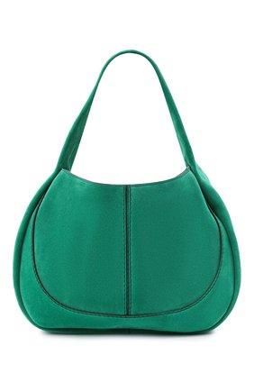Женская сумка aou TOD'S зеленого цвета, арт. XBWA0US0300P3A   Фото 1