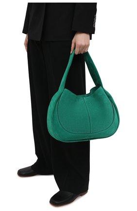 Женская сумка aou TOD'S зеленого цвета, арт. XBWA0US0300P3A   Фото 2