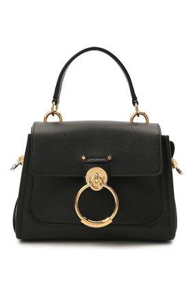 Женская сумка tess day mini CHLOÉ черного цвета, арт. CHC20AS143C62   Фото 1