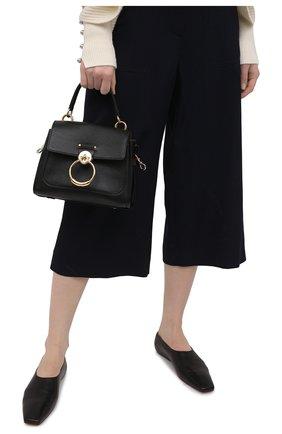 Женская сумка tess day mini CHLOÉ черного цвета, арт. CHC20AS143C62   Фото 2