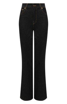 Женские джинсы JACQUEMUS темно-синего цвета, арт. 211DE01/123390 | Фото 1