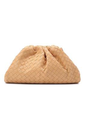 Женский клатч the pouch BOTTEGA VENETA бежевого цвета, арт. 576175/VCPP0 | Фото 1