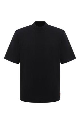 Мужская хлопковая футболка ACNE STUDIOS черного цвета, арт. BL0149 | Фото 1
