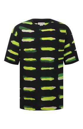 Мужская хлопковая футболка DRIES VAN NOTEN разноцветного цвета, арт. 211-21158-2601 | Фото 1