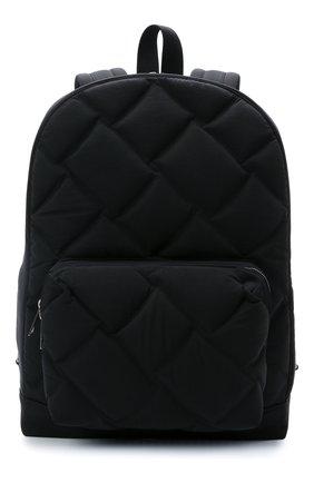 Мужской текстильный рюкзак BOTTEGA VENETA черного цвета, арт. 652188/V0I32 | Фото 1